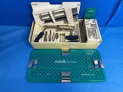 Stryker Medical Asnis Iii Cannulated Screw System 6.5mm8mm Orthopedic