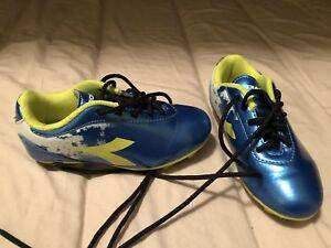 Size 10 Diadora Soccer Cleats