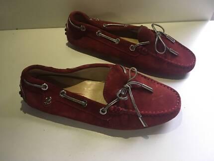 RARE Genuine Diana Ferrari Katinka Red Womens shoes