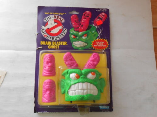 The Real Ghostbusters Brain Blaster Ghost Figure Kenner 1986 NOS