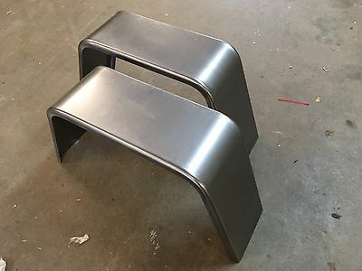 """PAIR of Trailer Fenders Single Axle 10"""" X 18"""" X 36"""" Jeep Style FREE SHIPPING!!!"""