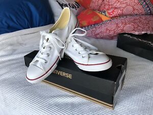 657324405241 Converse petite white canvas size 9 9 (good fit for 8.5).