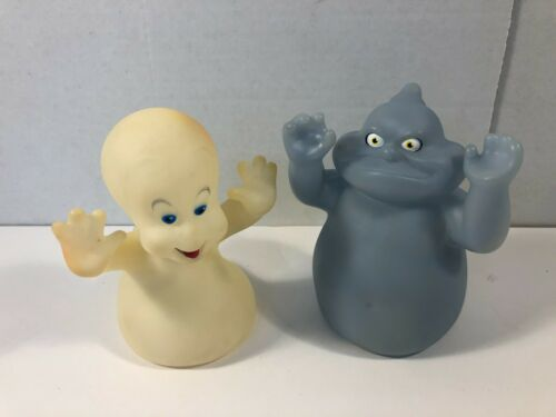 Casper The Friendly Ghost & Fatso Flashlight Cover Puppet Pizza Hut 1985