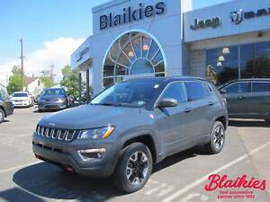 2017 Jeep Compass Trailhawk | 5 YR / 100,000KM GOLD PLAN WARRANT