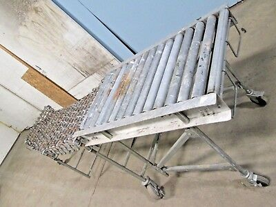 Heavy Duty Commercialindustrial Rolling Portableflexible Conveyor 80130l