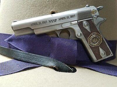 New York State Police 100th Anniversary M1911 Gun Challenge Coin
