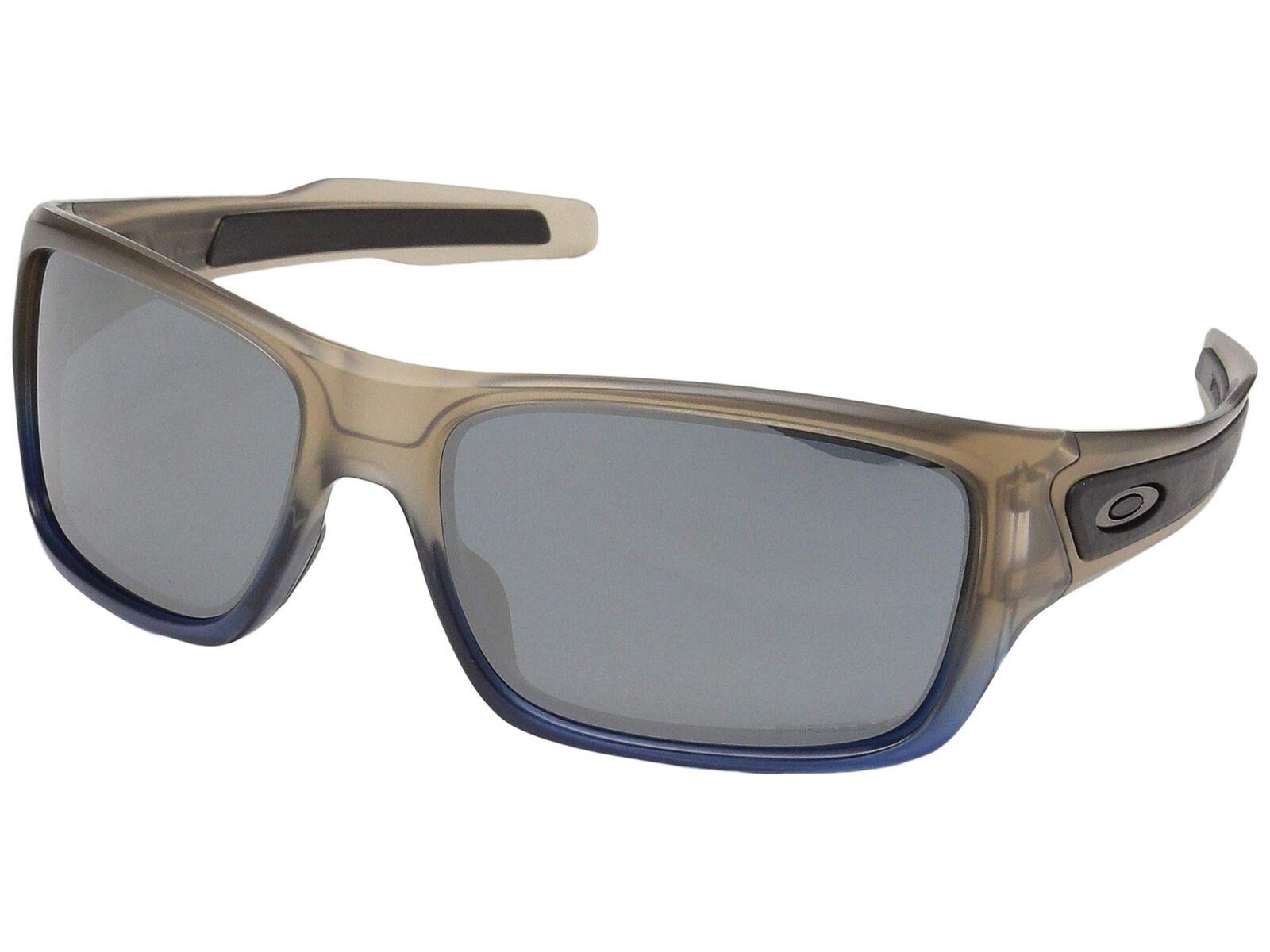 Oakley Turbine OO9263-52 Sunglasses Navy Mist Prizm Black Lens 9263 ... 5dc416ef6a