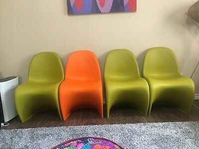 Vitra C1 I Verner Panton I Chair I Roter Hopsak I aufgearbeitet gereinigt