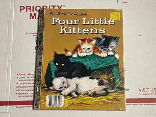 LITTLE GOLDEN BOOK VINTAGE 1957 FOUR LITTLE KITTENS! Nice condition!