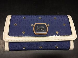Royal blue Guess wallet and another pick wallet Kensington Eastern Suburbs Preview