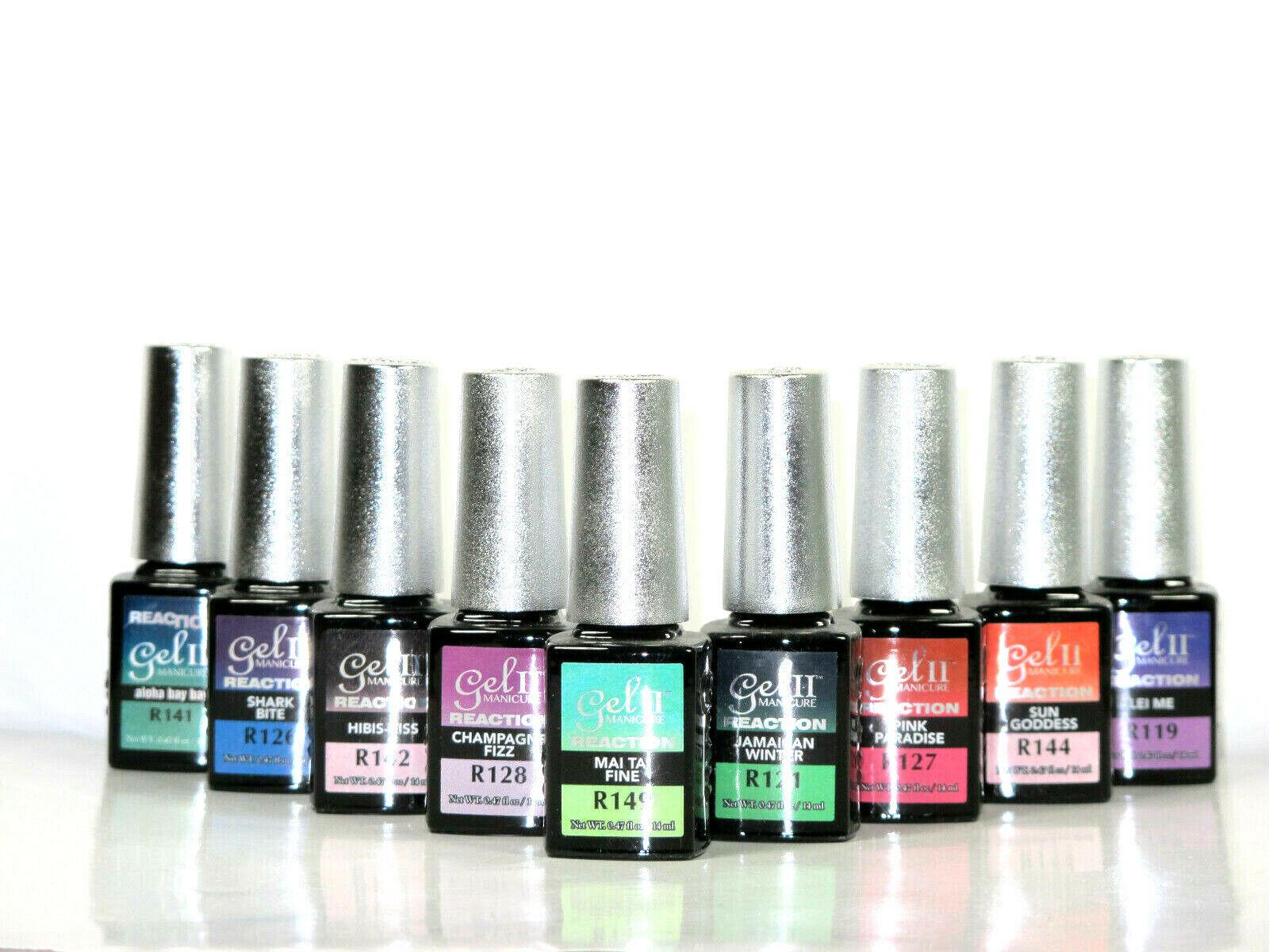 La Palm Gel II Reaction Soak Off Nail UV Gel Polish Changing