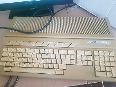 Atari 520 ST Boxed Working but Selling Like Spares Boxed