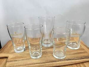 Crown Beer Glasses Adamstown Newcastle Area Preview