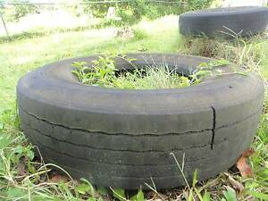 Truck Tyres used great for Recycled Garden beds Daisy Hill Logan Area Preview