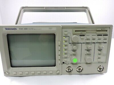 Tektronix Tds380 Digital Real Time Oscilloscope 2 Channel 500mhz 2gsas