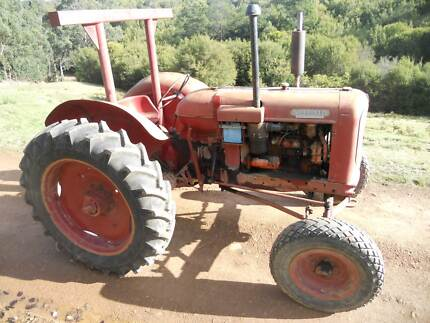 Nuffield Universal Four Tractor Healesville Yarra Ranges Preview