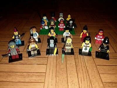 Lego Series Minifigures Huge Lot - Ice Fisherman, Gorilla Suit, and more!!