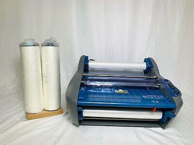 Gbc Rollseal Ultima 35 Ezload Thermal Roll Laminator 12 Width 2 Extra Rolls