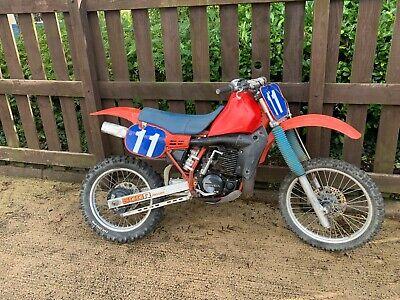 1984 Honda CR500 CR 500 MX twinshock restoration project barn find