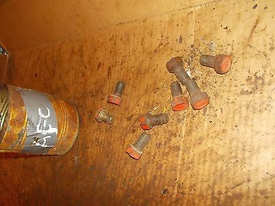 4 Allis Chalmers C Tractor Ac Front Hub Stud Bolts Bolt For Rims