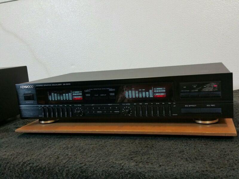Vtg KENWOOD GE-5010 Stereo Graphic Equalizer Spectrum Analyzer  Japan built