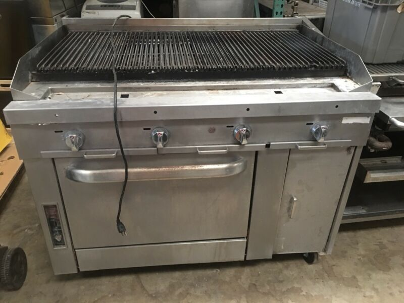 48 Inch Char Grill With Convection Base