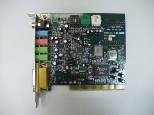 Aureal Vortex2 SQ2500 Coaxial AU8830 Sound Card PCI