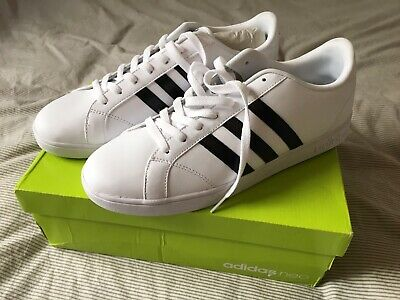 Adidas Baseline AW5410 Black and White, Size 10.5 Mens *New* SEE DESCRIPTION