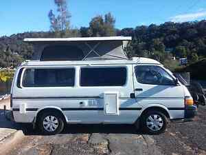 1992 Toyota HiAce Manual Pop Top Campervan / Motorhome 2017 Rego Gosford Gosford Area Preview
