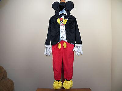 Disney Junior Mickey Mouse Halloween Costume Jr Size 4/5T **NEW W/ TAGS** - Disney Jr Mickey Mouse Halloween