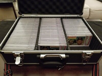BONUS! CERTIFIED Aluminum Graded Card Storage Box Display Case PSA BVS BGS