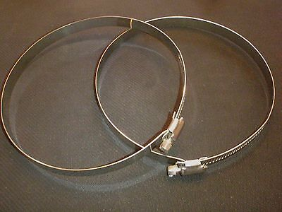 2 Pc Stainless Steel 10 Hose Duct Clamp  Hdc232-254