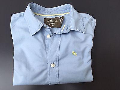 Langarm Shirt Junge Gr. 104 Blau Sportlich Chic! H&M