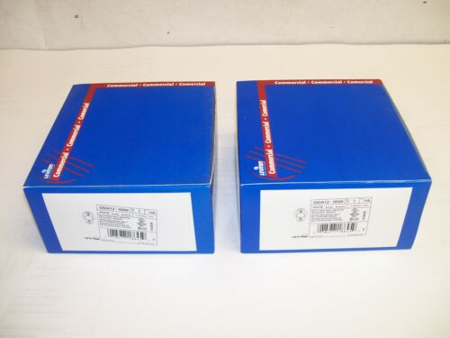 LOT OF 2 NEW IN BOX Leviton OSW12-M0W OSW12M0W Occupancy Sensor FREE SHIPPING!