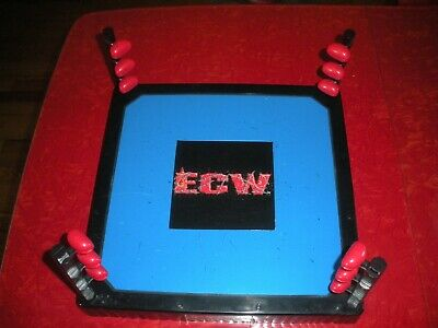 ECW RARE RING AND TURNBUCKLES PARTS...NO ROPES..2000 WCW WWE WWF