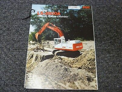 Link-belt Ls-2800a Crawler Excavator Specifications Lifting Capacities Manual