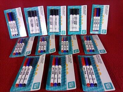 Dry Erase Markers Pocket Regular Mixed Lot Red Blue Black Qty36 Pen Gear