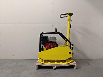 Hoc Dur500 Hydraulic Handle Reversible Plate Compactor Tamper 3 Year Warranty