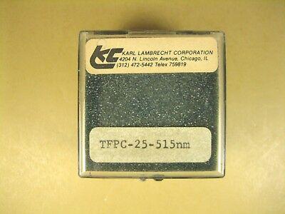Karl Lambrecht Beam Splitter Tfpc-25-515nm 1 Cube