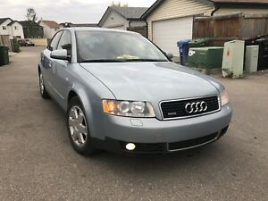 2002 AUDI A4 3.0 QUATTRO ALL WHEEL DRIVE PERFECT WINTER BEATER