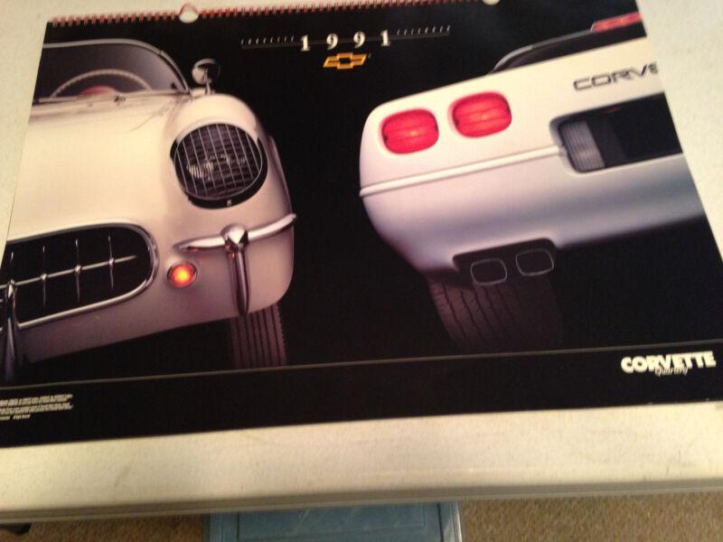 1991 Corvette Quarterly Calendar