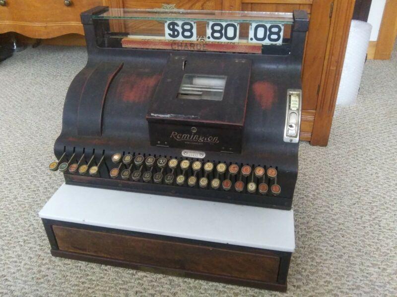 Remington Cash Register A - 431 1/4 Ilion NY