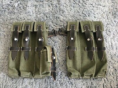 Star Wars Stormtrooper Sandtrooper Armor Canvas Ammo MP40 Pouch Costume Holster