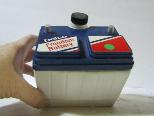 Jim Beam AC Delco Freedom Battery Decanter