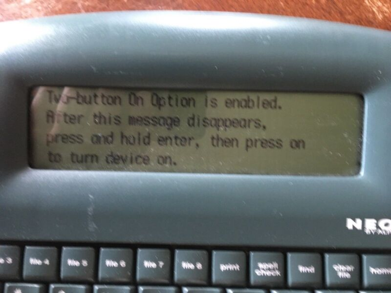 Alphasmart NEO 1, tested and refurbished