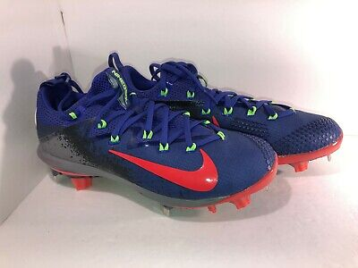 40dffe8dfc37 Nike Lunar Vapor Ultrafly Elite Baseball Cleats Size 7 Blue/Red/Gray 852686  460