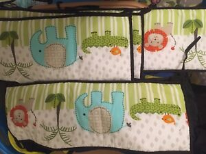 Baby mobile and crib bumper pads
