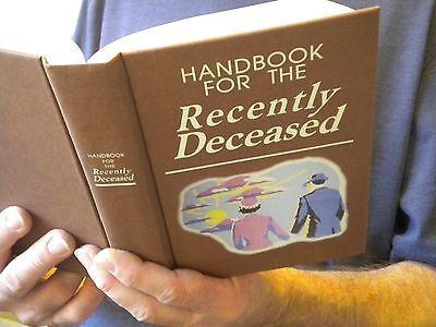 Handbook For The Recently Deceased Beetlejuice   Movie Prop Alec Baldwin Cosplay
