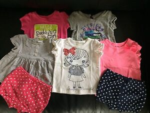 Girls summer clothes (40 items) size 6-9/6-12m