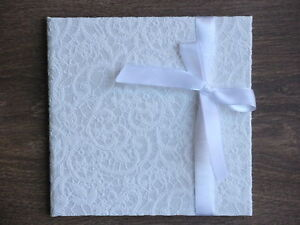 Handmade wedding/ all occasions CD/DVD case/ cover/ folio/ photo presentation